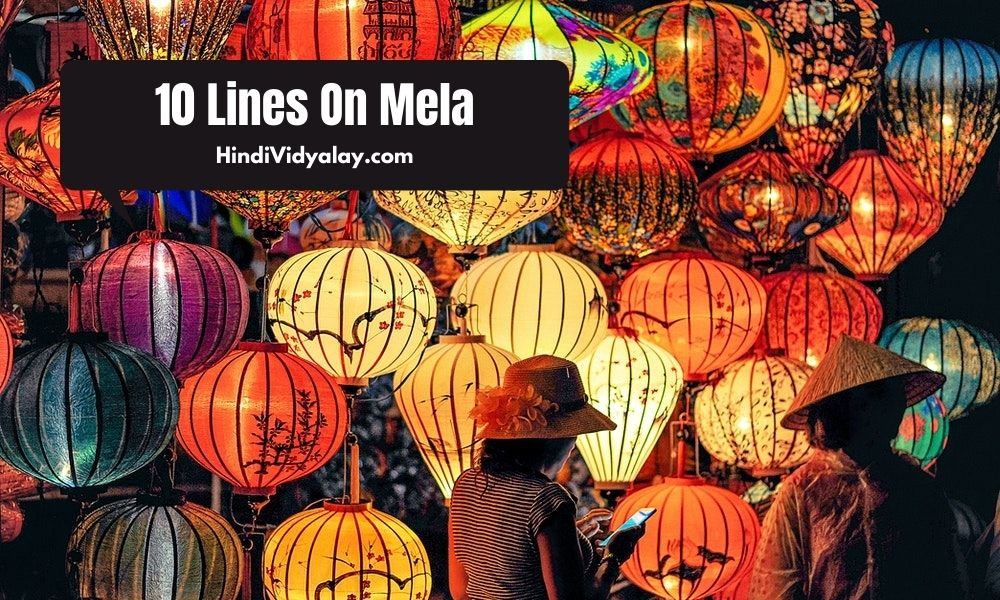 10 Lines On Mela (Festival) In Hindi And English Language
