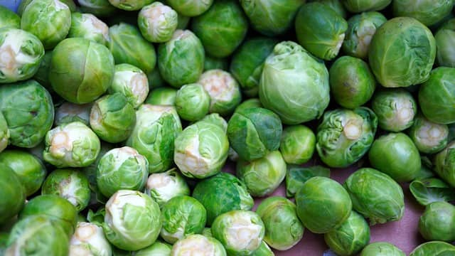 Vegetable Name - Brussels Sprouts